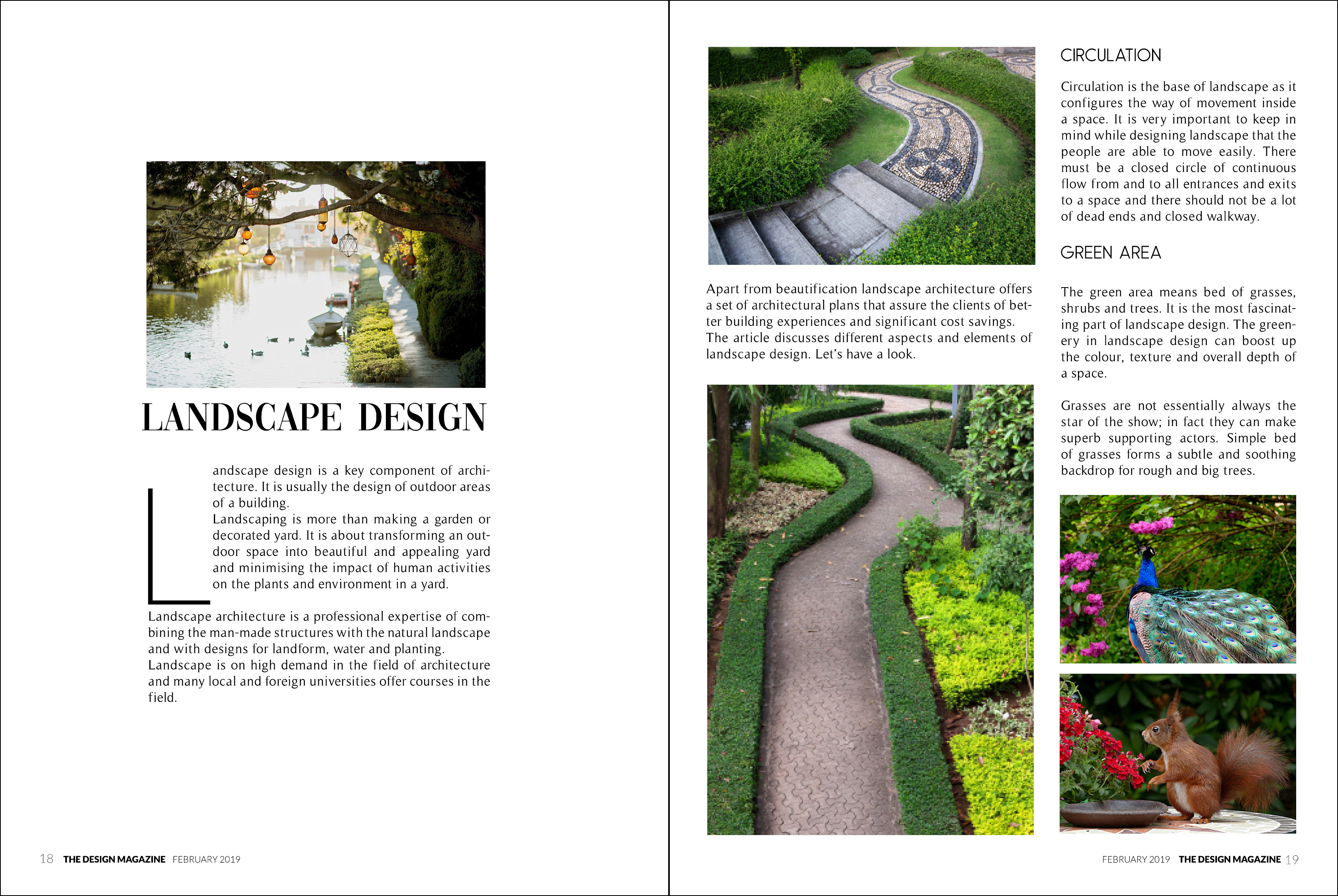 Landscape Design - The Design Magazine